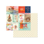 Photo Play Paper - Rhapsody Collection - 12 x 12 Double Sided Paper - Lovely