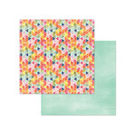Photo Play Paper - Rhapsody Collection - 12 x 12 Double Sided Paper - Good Vibes