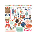 Photo Play Paper - Rhapsody Collection - 12 x 12 Cardstock Stickers - Elements