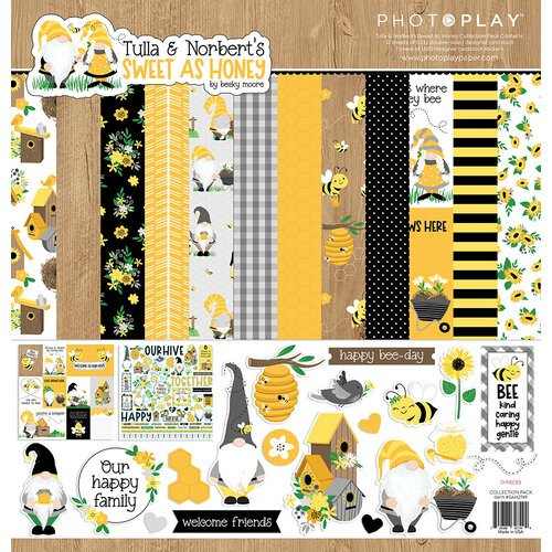 Photo Play Paper - Tulla and Norbert's Sweet As Honey Collection - 12 x 12 Collection Pack