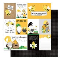 Photo Play Paper - Tulla and Norbert's Sweet As Honey Collection - 12 x 12 Double Sided Paper - You're A Keeper