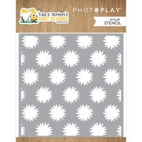 Photo Play Paper - Tulla and Norbert's Sweet As Honey Collection - 6 x 6 - Stencil