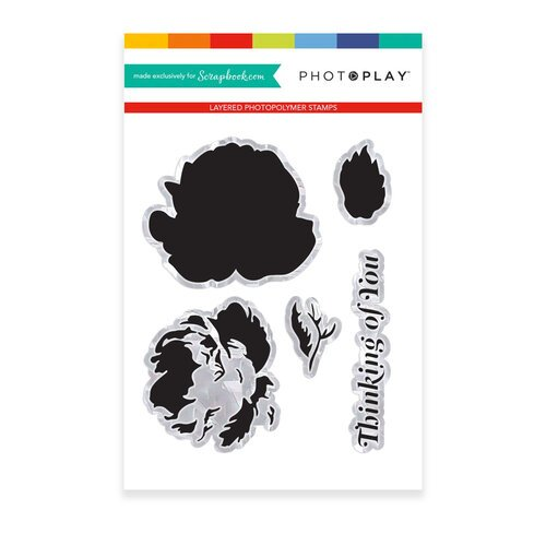 Photo Play Paper - Clear Photopolymer Stamps - Petite Belle Fleur