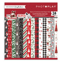 Photo Play Paper - 6 x 6 Paper Pad - Best of Christmas