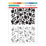 Photo Play Paper - Clear Photopolymer Stamps - Double Layer Background Stamp - Layered Vines
