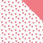 Photo Play Paper - Summer Daydreams Collection - 12 x 12 Double Sided Paper - Watermelon