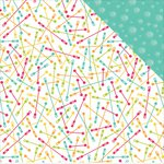 PhotoPlay Paper - Summer Daydreams Collection - 12 x 12 Double Sided Paper - Bubble Wands