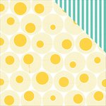 PhotoPlay Paper - Summer Daydreams Collection - 12 x 12 Double Sided Paper - Sun Spots