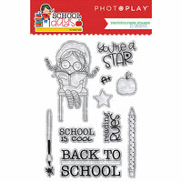 Photo Play Paper - School Days Collection - Clear Acrylic Stamps