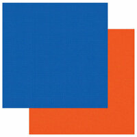 Photo Play Paper - School Days Collection - 12 x 12 Double Sided Paper - Blue