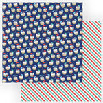 Photo Play Paper - Set Sail Collection - 12 x 12 Double Sided Paper - Happy Hour
