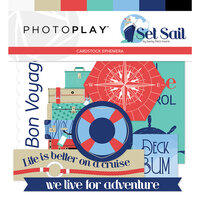 Photo Play Paper - Set Sail Collection - Ephemera