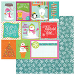 Photo Play Paper - Snowball Fight Collection - Christmas - 12 x 12 Double Sided Paper - I Heart Snowmen