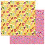 Photo Play Paper - Snowball Fight Collection - Christmas - 12 x 12 Double Sided Paper - Hot Cocoa