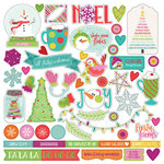 Photo Play Paper - Snowball Fight Collection - Christmas - 12 x 12 Cardstock Stickers - Elements
