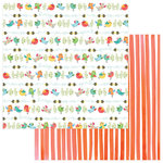 Photo Play Paper - Spring In My Garden Collection - 12 x 12 Double Sided Paper - Birds and Bees