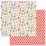 Photo Play Paper - Spring In My Garden Collection - 12 x 12 Double Sided Paper - Garden