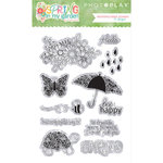 Photo Play Paper - Spring in My Garden Collection - Clear Acrylic Stamps