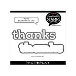 Photo Play Paper - Say It With Stamps Collection - Dies - Thanks