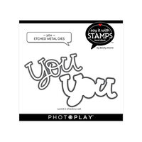 Photo Play Paper - Say It With Stamps Collection - Dies - You