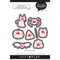 Photo Play Paper - Say It With Stamps Collection - Dies - Boo To You Halloween