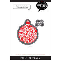Photo Play Paper - Say It With Stamps Collection - Dies - Build An Ornament
