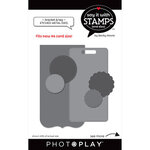Photo Play Paper - Say It With Stamps Collection - Dies - Bracket And Tags