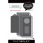 Photo Play Paper - Say It With Stamps Collection - Dies - Stitched Frames