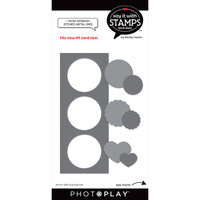 Photo Play Paper - Say It With Stamps Collection - Dies - Circle Windows