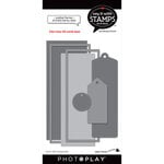 Photo Play Paper - Say It With Stamps Collection - Dies - Scallop Tags