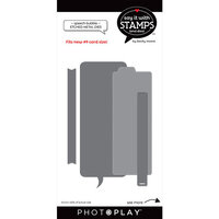Photo Play Paper - Say It With Stamps Collection - Dies - Speech Bubble