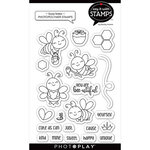 Photo Play Paper - Say It With Stamps Collection - Clear Photopolymer Stamps - Busy Bees