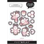 Photo Play Paper - Say It With Stamps Collection - Dies - Busy Bees