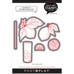 Photo Play Paper - Say It With Stamps Collection - Dies - Pucker Up