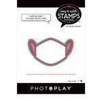 Photo Play Paper - Say It With Stamps Collection - Dies - Talking Masks