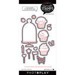 Photo Play Paper - Say It With Stamps Collection - Dies - Hey Cupcake