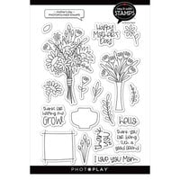 Photo Play Paper - Say It With Stamps Collection - Clear Photopolymer Stamps - Mother's Day