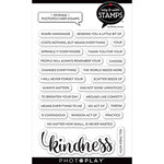 Photo Play Paper - Say It With Stamps Collection - Clear Photopolymer Stamps -Kindness