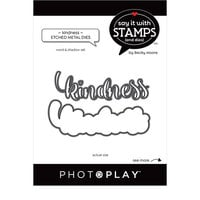 Photo Play Paper - Say It With Stamps Collection - Dies - Kindness