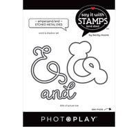 Photo Play Paper - Say It With Stamps Collection - Dies - Ampersand