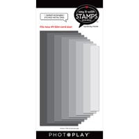 Photo Play Paper - Say It With Stamps Collection - Dies - Nested Rectangles