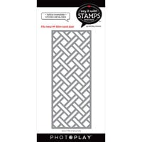 Photo Play Paper - Say It With Stamps Collection - Dies - Lattice Cover Plate