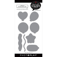 Photo Play Paper - Say It With Stamps Collection - Dies - Balloons