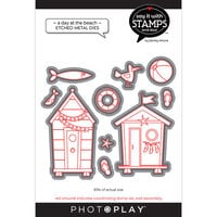 Photo Play Paper - Say It With Stamps Collection - Dies - A Day At The Beach