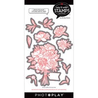 Photo Play Paper - Say It With Stamps Collection - Dies - Peony Bouquet