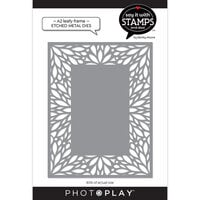 Photo Play Paper - Say It With Stamps Collection - Dies - A2 - Leafy Frame Coverplate