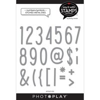 Photo Play Paper - Say It With Stamps Collection - Dies - Numbers