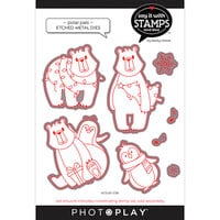 Photo Play Paper - Say It With Stamps Collection - Dies - Polar Pals