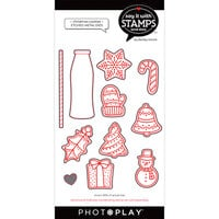 Photo Play Paper - Say It With Stamps Collection - Dies - Christmas Cookies