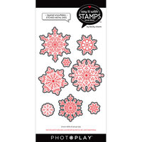 Photo Play Paper - Say It With Stamps Collection - Dies - Layered Snowflakes
